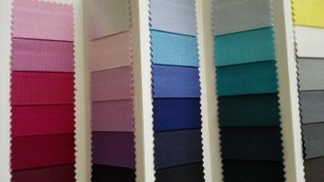 Kleurenkaarten / Kleuren stof folders